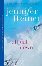 ALL FALL DOWN by Jennifer Weiner Paperback book wiener novel FREE USA SHIPPING