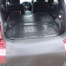 Nissan Juke 2014+ natural rubber boot load liner mat pair + bumper protector