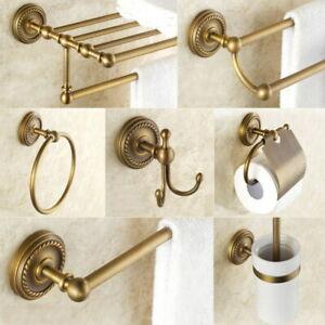 Bathroom Hardware Set Towel Rail Bar Tissue Paper Holder Bathroom Accessories