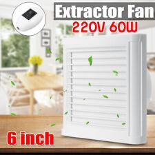 "4"" 6'' Wall Mounted Extractor Ventilation Fan Windows Bathroom Toilet  #"