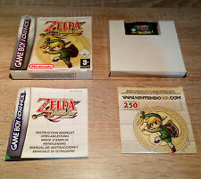 Gameboy Advance (GBA) // Legend of Zelda - The Minish Cap + OVP + Anl. // dt.CIB