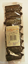 "Small Foam Black Hair Rollers Hollywood #309-10B 10ct.   2-1/2"" x 1/2""  sale"