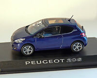 PEUGEOT 208 AZUL METÁLICO, 1:43 , NOREV