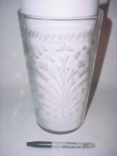 Cut Glass Flower Vase tall heavy duty crystal clear thick bottom large capacity