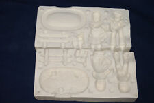 Vtg Ceramic Pottery Slip Casting Mold 1973 Made in Mexico - Boy & Girl Dog Etc.