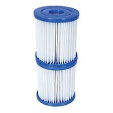 2x300 Gal Swimming Pool Pump Filter Cartridge, Twin  Pack
