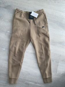 Nike Tech Fleece Washed Slim Fit Jogger Pants Taupe Haze CZ9918-229 Men's Medium