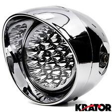Chrome LED Headlight For Kawasaki VN Vulcan Classic MeanStreak Nomad 1600