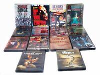 Horror Cult DVD Lot of 17 Stung Broken Elvira's Movie Macabre Zombie Binge