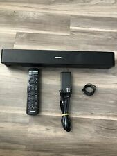 BOSE Solo 5 TV Sound System Speaker Model 418775 Black with Remote & AC Adapter