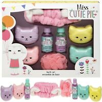 Technic Miss Cutie Pie Kitty Bath Set Xmas Gift Box Body Girls Toiletry Set New