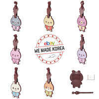 TWOTUCKGOM x MONSTA X Luggage Tag Name Tag 7types Official K-POP Authentic Goods