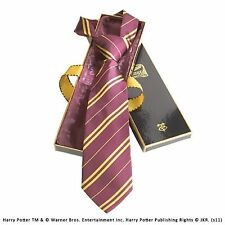 Official Harry Potter Tie 100% Silk In Madam Malkins Gift Box Witch Wizard Film