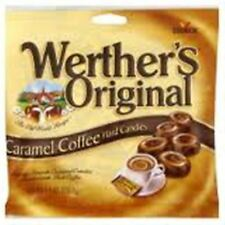 Werthers Original Caramel Coffee Swirl Hard Candies 12 pack (5.5oz per pack)