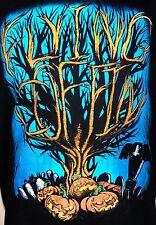 2008 Limited Edition Flying Coffin Annual Halloween Jack O Lantern Tee Shirt XL