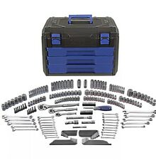 Kobalt 227 Piece Standard (SAE) and Metric Mechanic's Tool Set with Hard Case