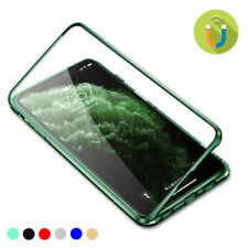 360 °Case for iPhone 11 Pro Max Magnetic Adsorption Tempered Glass Cover
