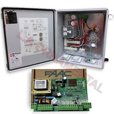 FAAC 455D Control Panel with Circuit Board, Remote Control, Receiver Full Kit
