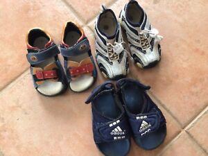 Sandalen, Badeschuhe, Sneaker Gr.21