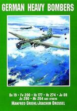 Allemand lourd BOMBERS: Do 19, FW 200, He 177, 274, Ju 89, 290, Me 264 et O