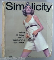 Simplicity Patterns CATALOG - 1969 ~~ Large Store Counter Pattern Book