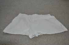 VINTAGE Adidas Pantaloncini Uomo Bianco Taglia 10