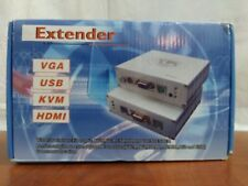 VGA-50AD audio and video extender (industrial grade) 150ft (50meter)