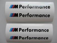 4x BMW M Performance Rückspiegel Aufkleber Motorsport Logo Sticker Spiegel BMW