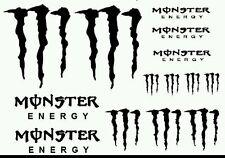 8 x Pegatinas Monster