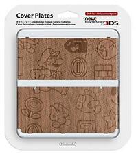 Nuevo Nintendo 3ds Madera patrón Placa de cubierta kisekae Placa No. 024 (grano)