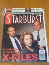STARBURST #216 BRITISH SCI-FI MONTHLY MAGAZINE AUGUST 1996 X-FILES BABYLON 5