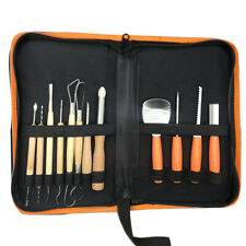 12Pcs Stainless Steel Pumpkin Carving Kit Tools Set For Halloween Crafts