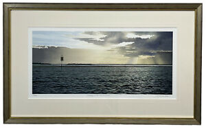 """""""Evening at the Pelican Banks"""" by Bruce Buchanan #35/100, 30256"""