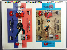 1995 International GI Joe Convention Exclusive Figure Uncut Sheet of Box Art