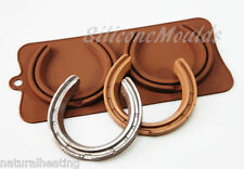 Lifesize HORSE SHOE Chocolate Silicone Mould Cake Decorating Wedding Favours