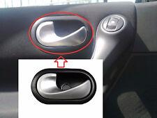 RENAULT MEGANE 2 / SANDERO INTERIOR DOOR HANDLE CHROME PLATED FRONT / REAR LEFT