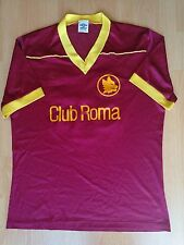 AS Roma #12 1980s 80s Vintage Football Jersey Shirt Calcio Maglia L Large Old
