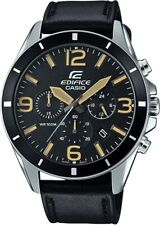 Casio Edifice Men's Quartz Chronograph Date Calendar 45mm Watch EFR-553L-1BVCF