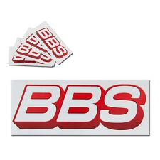 Original BBS logotipo pegatinas llantas de Sticker Adhesivo 20cm grande-nuevo -