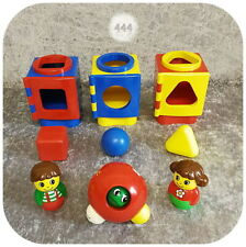 Lego Duplo Baby Primo >> SORTIEREN + ENTDECKEN <<  3x Sortier-Boxen, Motorikball