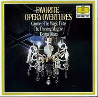 Favorite Opera Overtures, Mozart, Bizet, Rossini, Audio CD, Acceptable, FREE & F