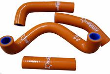 Ktm 50 sx 50sx Pro Factory Silicone Radiator Hose Kit Orange 2009-2011 New