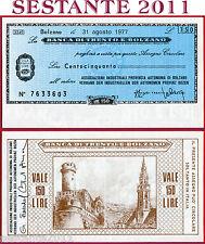 BANCA DI TRENTO E BOLZANO LIRE 150 31.8. 1977 UNIONE COMMERCIO E TURISMO FDS B19