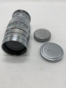 Canon Lens Serena's f:4, 135mm, M39 screw mount vintage