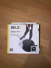 Golf Smash Bag SKLZ Impact Swing Trainer Rick Smith Training Aid Black NEW!