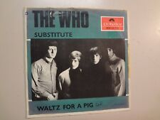 "WHO/ WHO ORCHESTRA: Substitute- Waltz For A Pig-Sweden 7"" 1966 Polydor 59715 PSL"