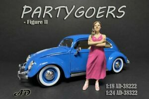 PARTYGOERS FIGURE II AMERICAN DIORAMA 38322 1/24 scale Accessory