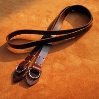 Vintage Handmade Genuine Leather Camera Shoulder Neck Strap for Canon Fuji Nikon