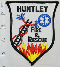 ILLINOIS, HUNTLEY FIRE & RESCUE PATCH
