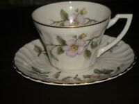 Syracuse Apple Blossom cup and saucer pre owned